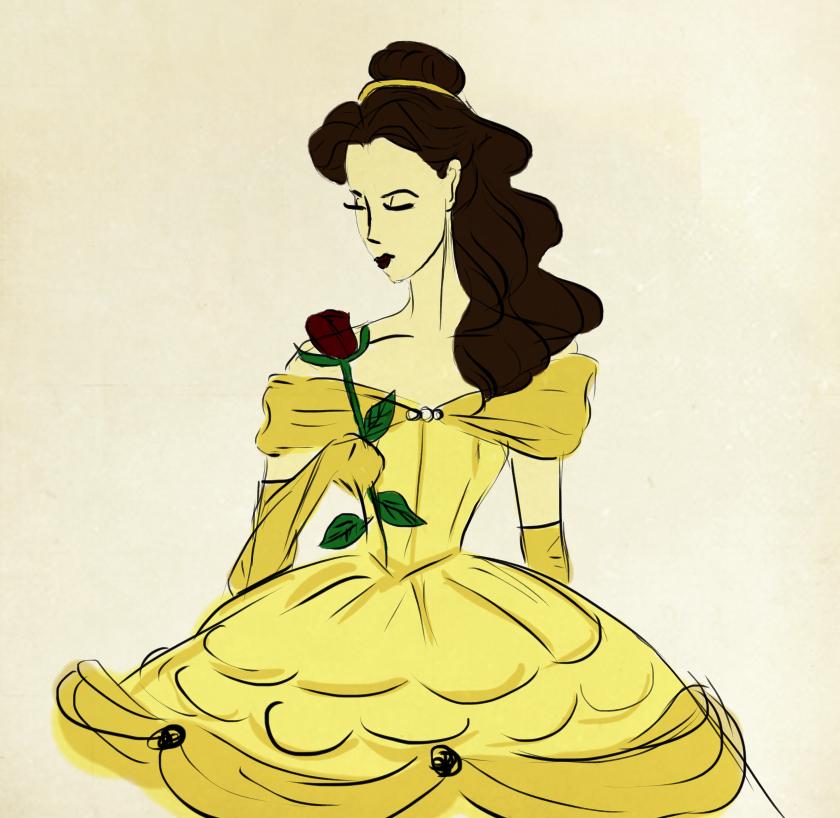 Belle by SansaClegane
