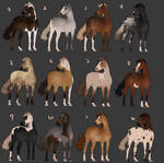 Fancy Horse Adoptables (0/12) CLOSED
