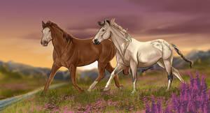 ~ Lilac Fields ~