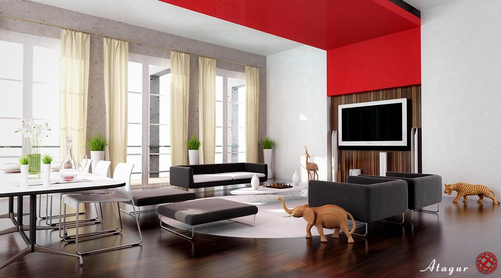 a living room in italy by alijoe