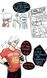 Dmc5: Nero is Awkward yet Generous by justMBe