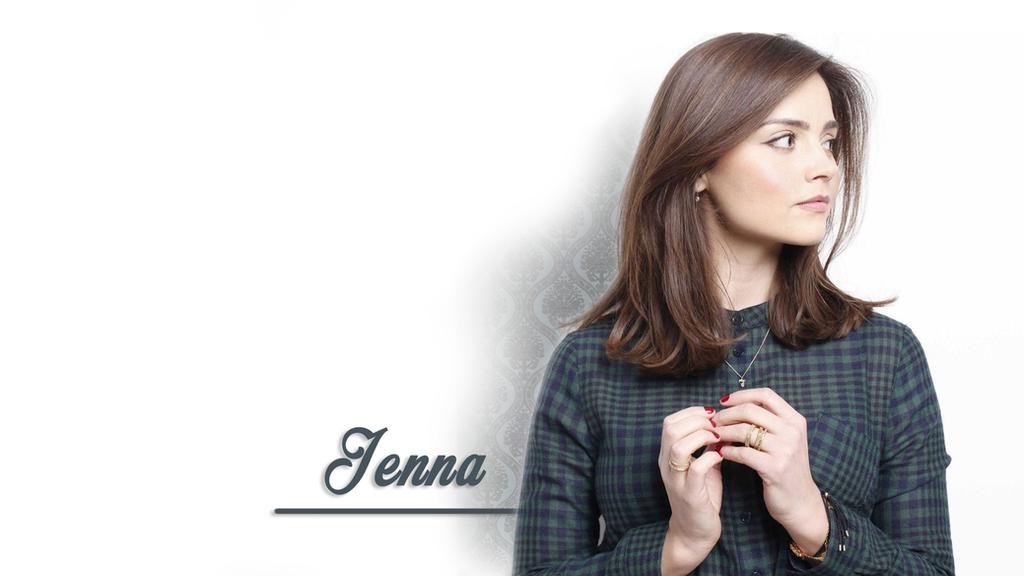 Jenna Coleman wallpaper by GrayFurStripe