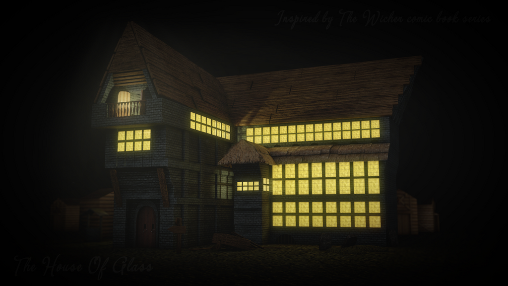 The House Of Glass 3D Scene (The Witcher) by GrayFurStripe