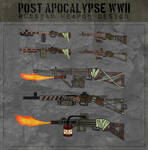 Post Apocalypse: World War 2 (Russian Weapons) by TylerConcepts on