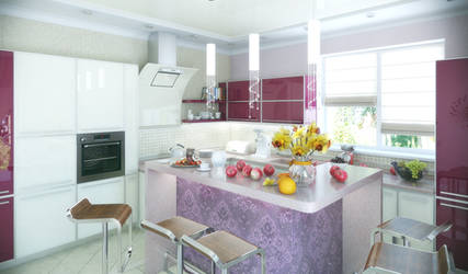 Private home kitchen - hall. 3 by HorheSoloma