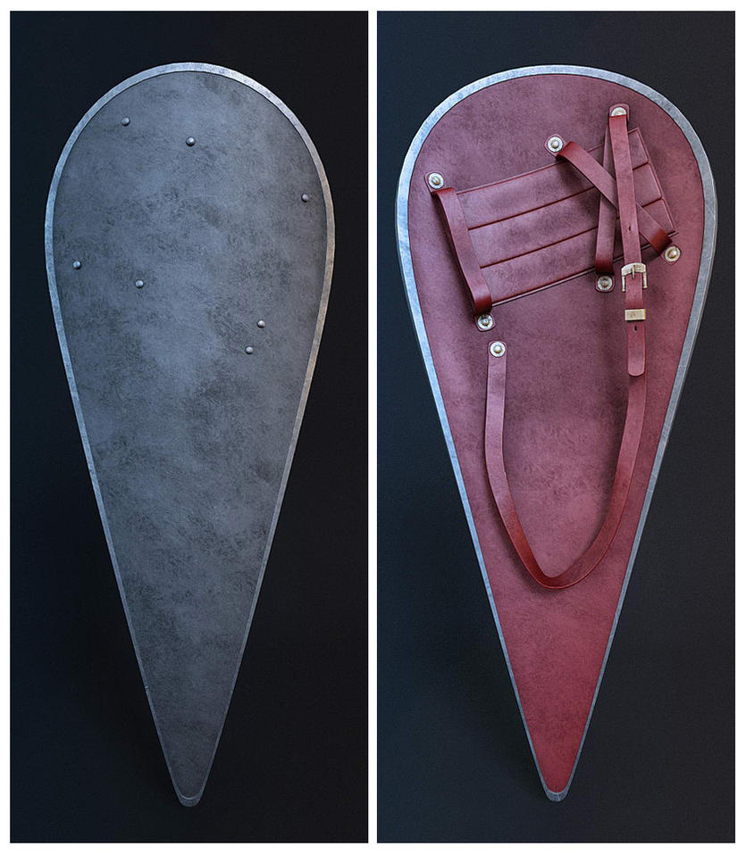 Mormegil's Shield by HorheSoloma