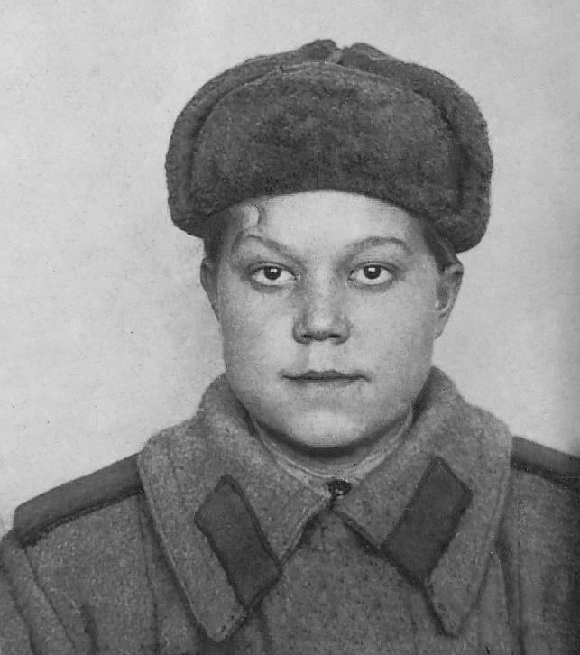 My grandmother, Solomatina Klavdiya Yakovlevna by HorheSoloma
