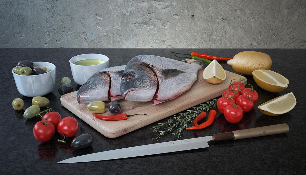 Fresh fish by HorheSoloma