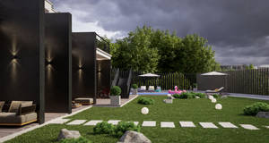 Project of house on the hill Ursa Major 8