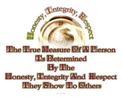 Honesty Integrity Respect