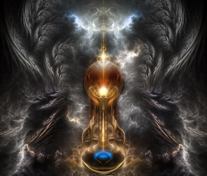 Orb Of Light by xzendor7