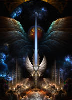 The Angel Wing Sword Of Arkledious IMW by xzendor7