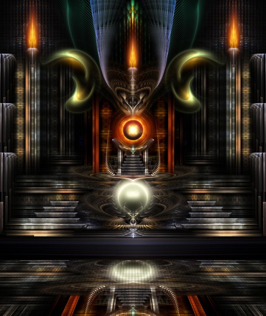 The Throne Room by xzendor7