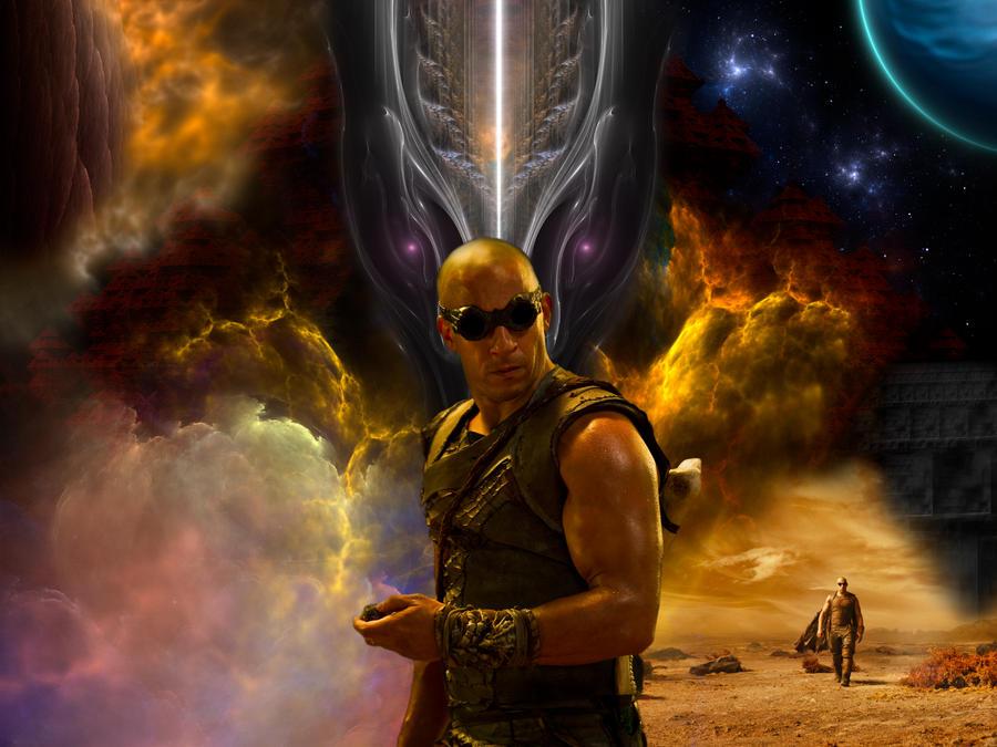 Xzendor7's Riddick: Rule The Dark Fan Art Contest by xzendor7