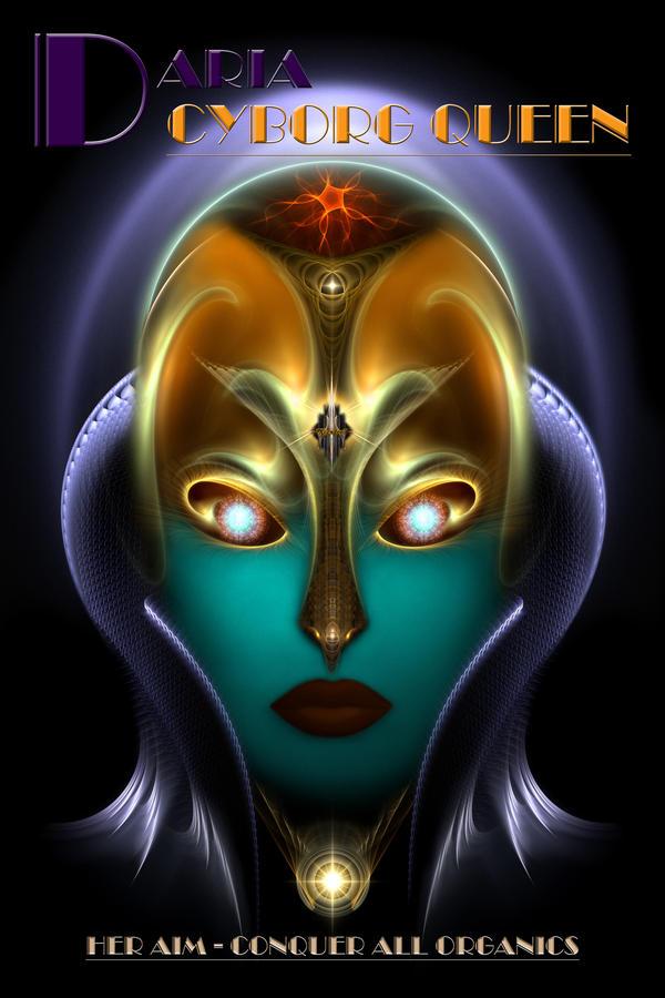 Daria Cyborg Queen by xzendor7