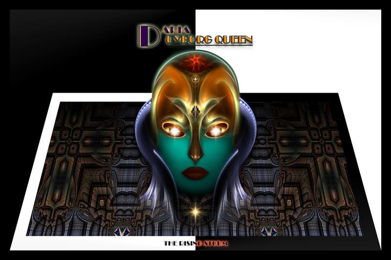 Daria Cyborg Queen TRS by xzendor7