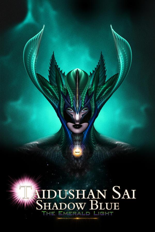 Taidushan Sai Shadow Blue The Emerald Light Cover by xzendor7