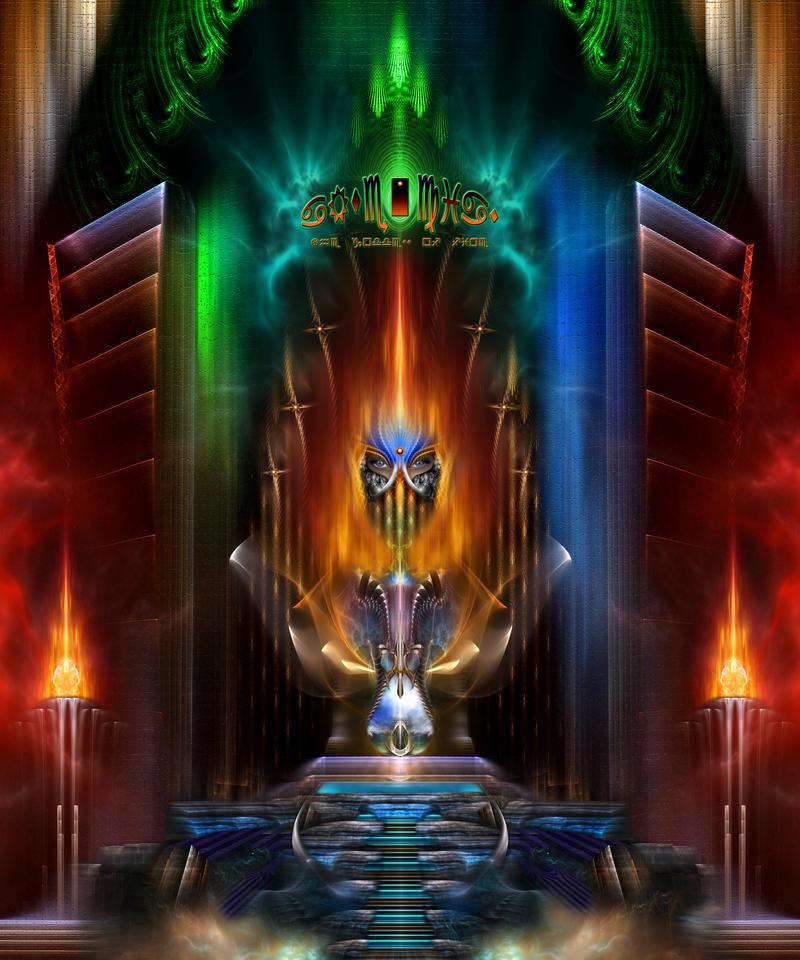 Arsencia - Goddess Of Fire by xzendor7