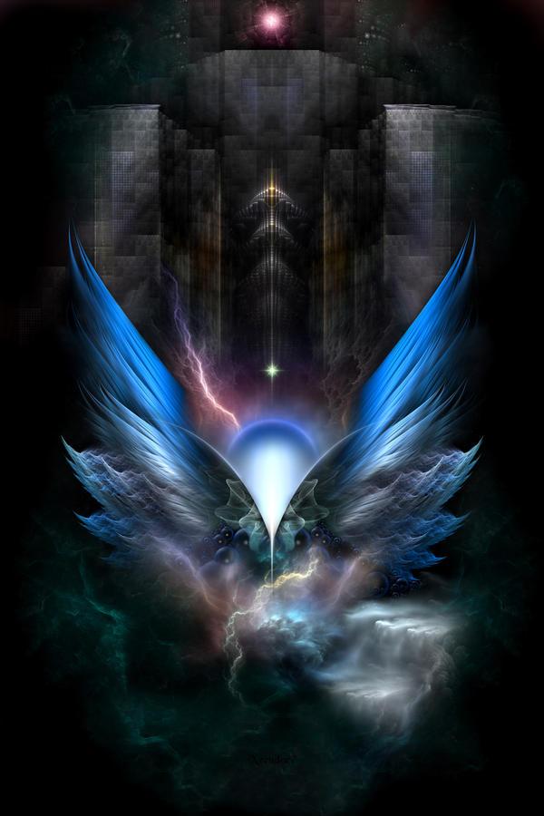 Wings Of Light by xzendor7