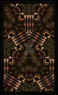 Mech Tech WPO Fractal Art Kali