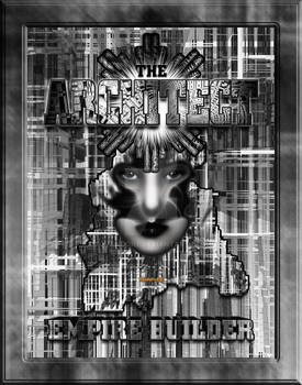The Architect_Empire Builder Abstract Digital Art