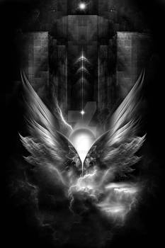 Wings Of Light DGSEmC Fractal Art Composition
