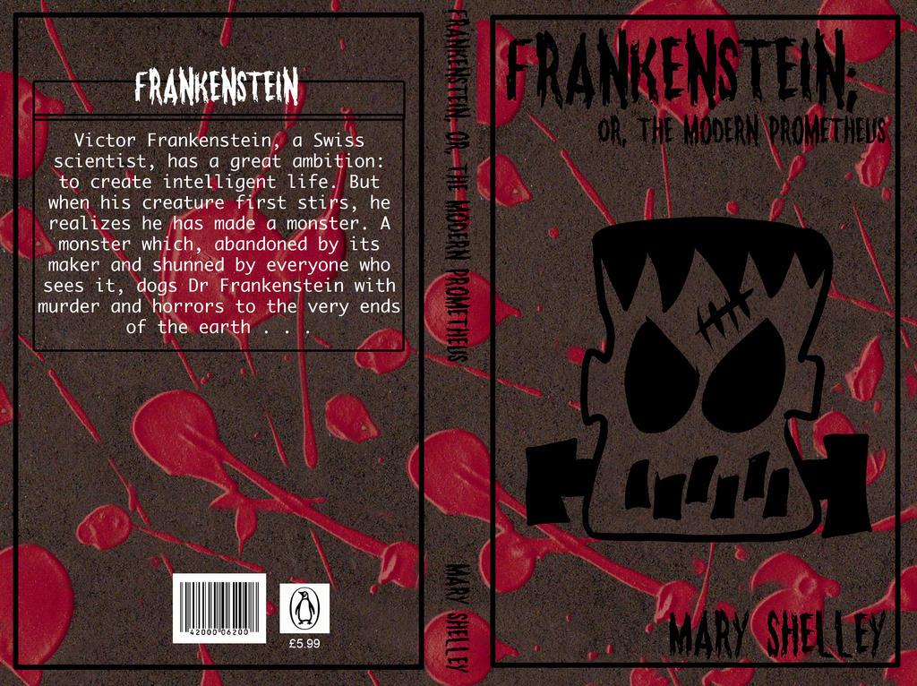 Book reports frankenstein shelley
