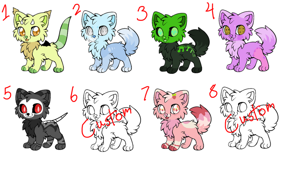 [CLOSED] Feline Adopts by royalraptors