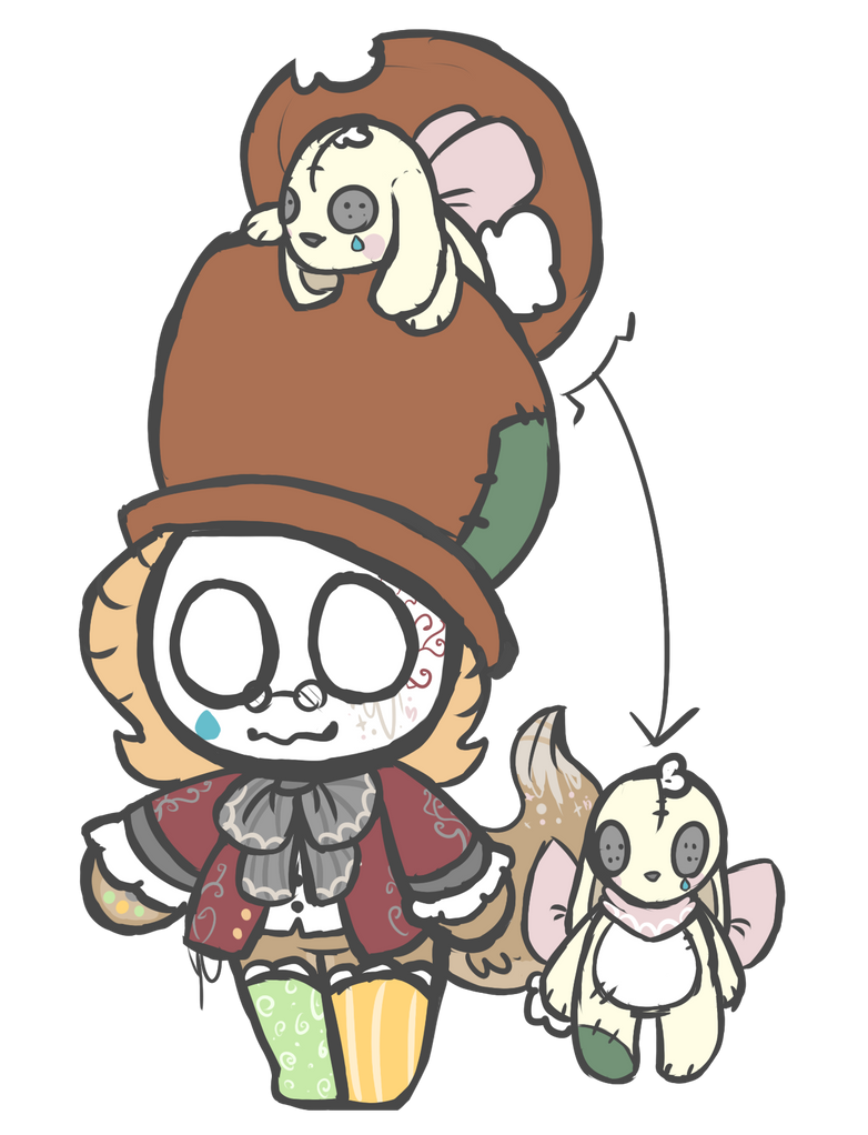 [CLOSED]RARE Mad Hatter Sheep COMES WITH COMPANION by royalraptors