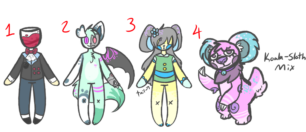 [CLOSED] Random Design SET PRICE by royalraptors