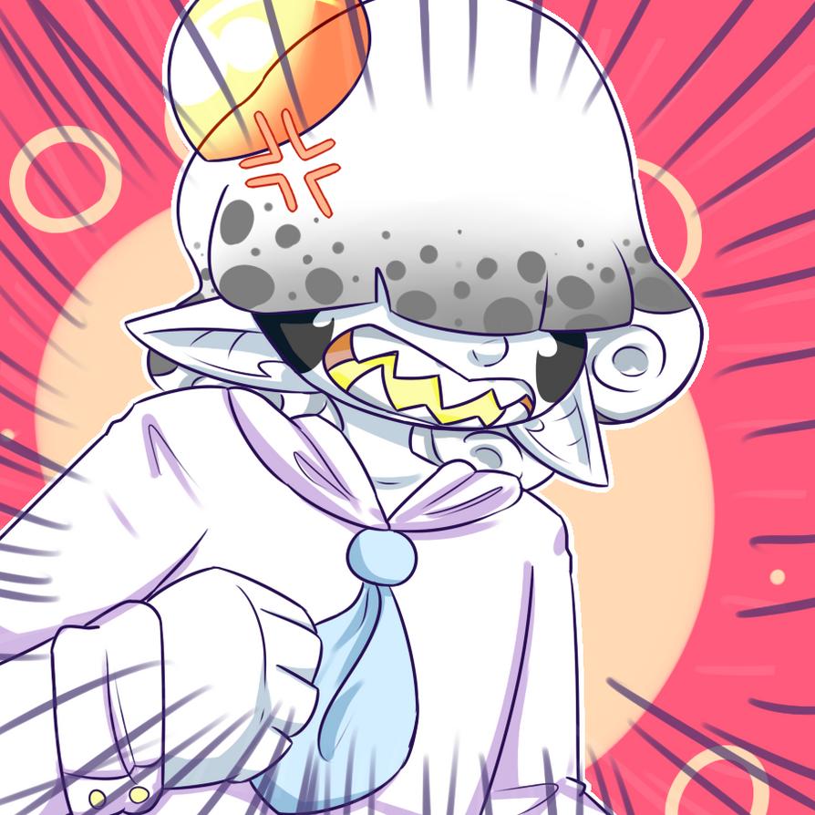 animu eggo-kun by royalraptors