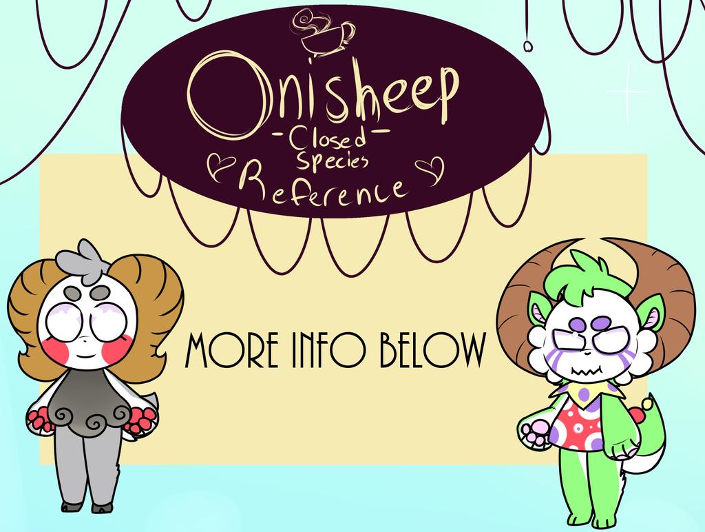 {CLOSED SPECIES} Onisheep Ref -VIEW DESCRIPTION- by royalraptors