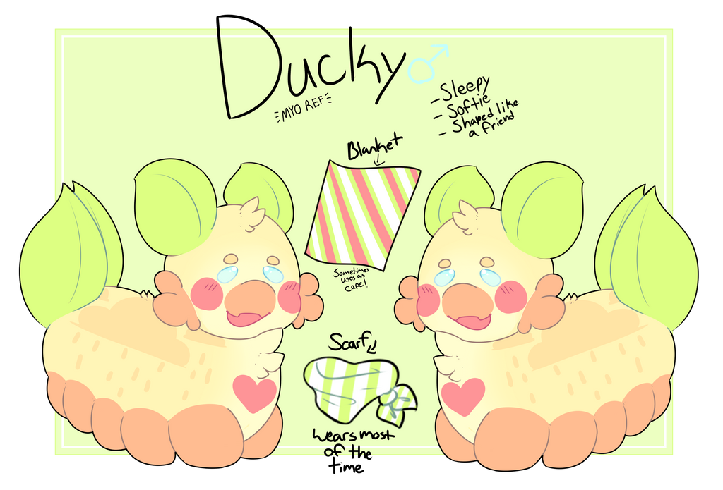 {MYO PACAPILLAR} - Ducky by royalraptors