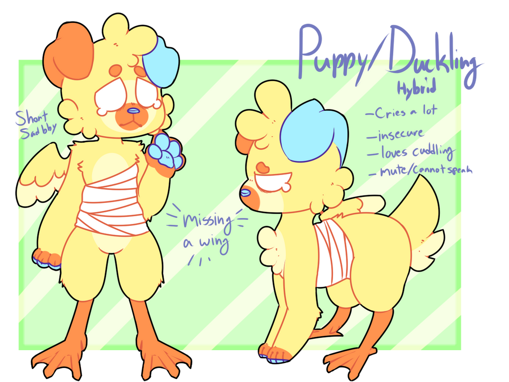 [SOLD] Duckling Doggo AUCTION -AB ADDED- by royalraptors
