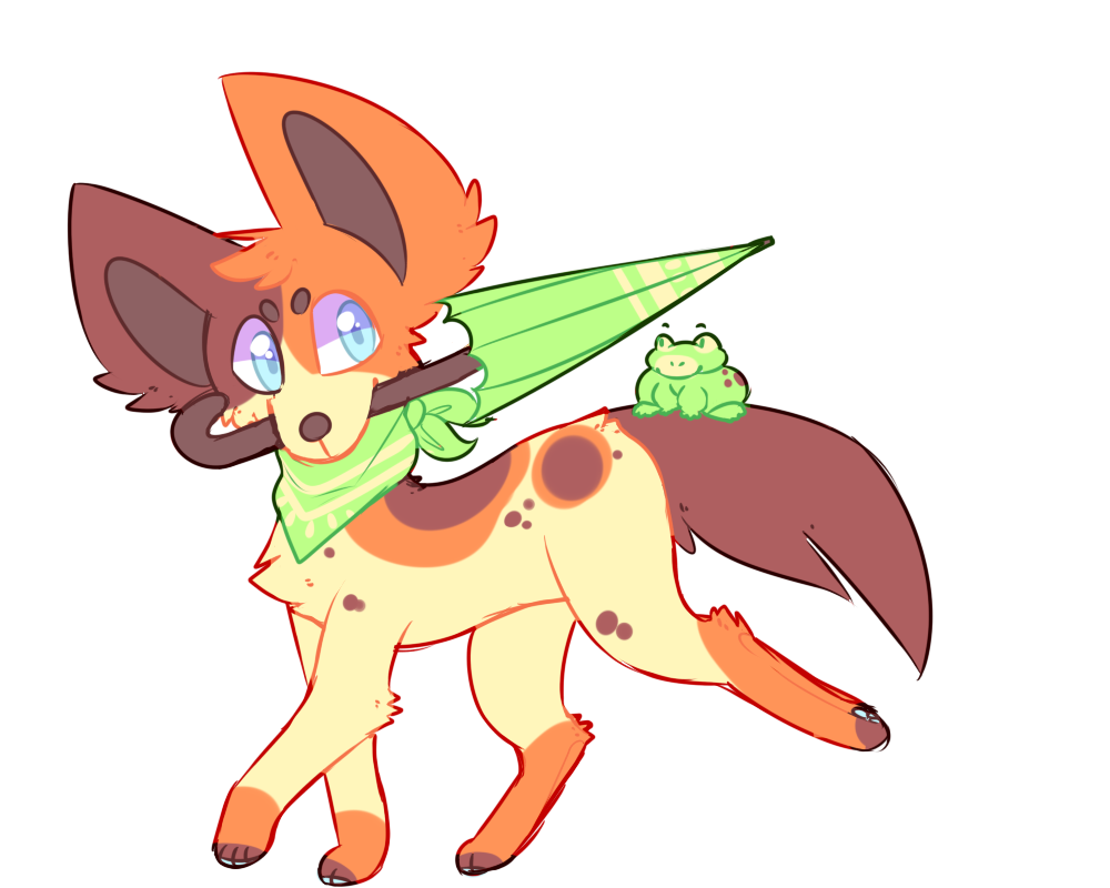 (sold) Froggo Doggo Adopt by royalraptors