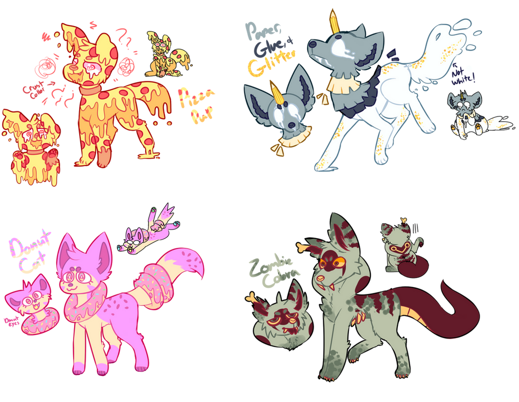 [SOLD] Feral One-Off Designs 2 AUCTION by royalraptors