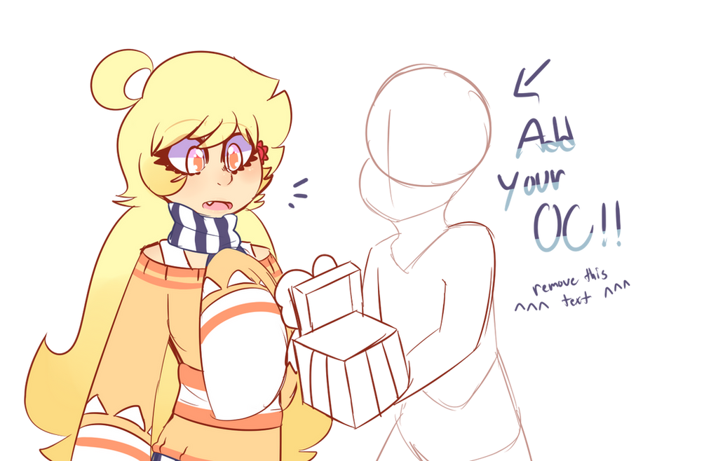 -oc collab add your oc!!- What's in the box?? by royalraptors