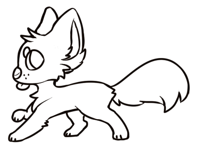 [F2U!] Lil Pupper Blep Base (MS PAINT FRIENDLY) by royalraptors