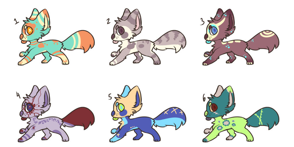 [SOLD] Pupper AUCTIONS by royalraptors