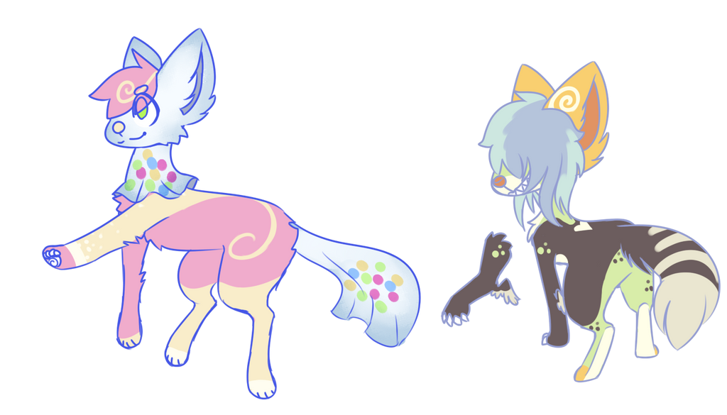 (sold) quick canine adopts by royalraptors