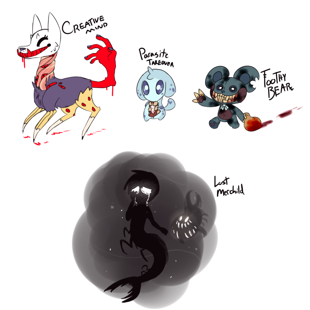 (sold) quick monster adopts by royalraptors