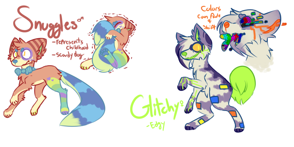 (sold) experimental canine adopts AUCTION by royalraptors