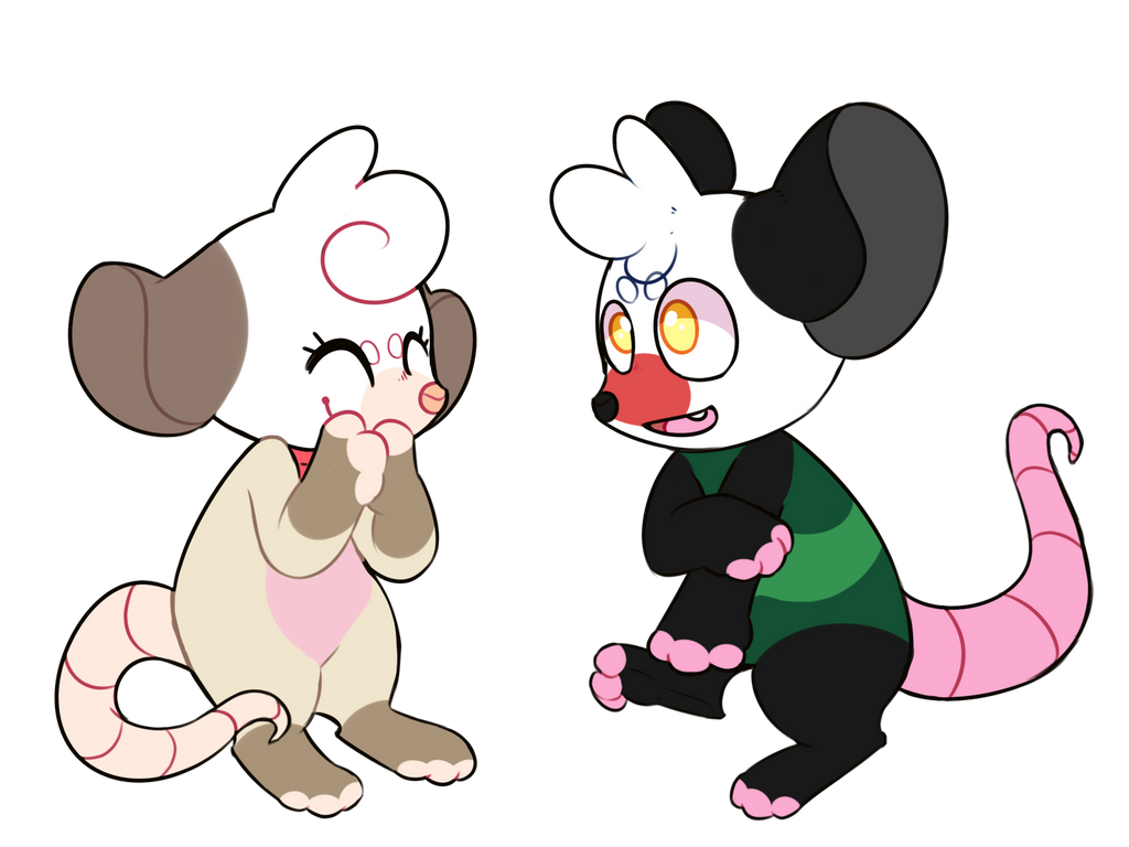 opossum power x2 by royalraptors