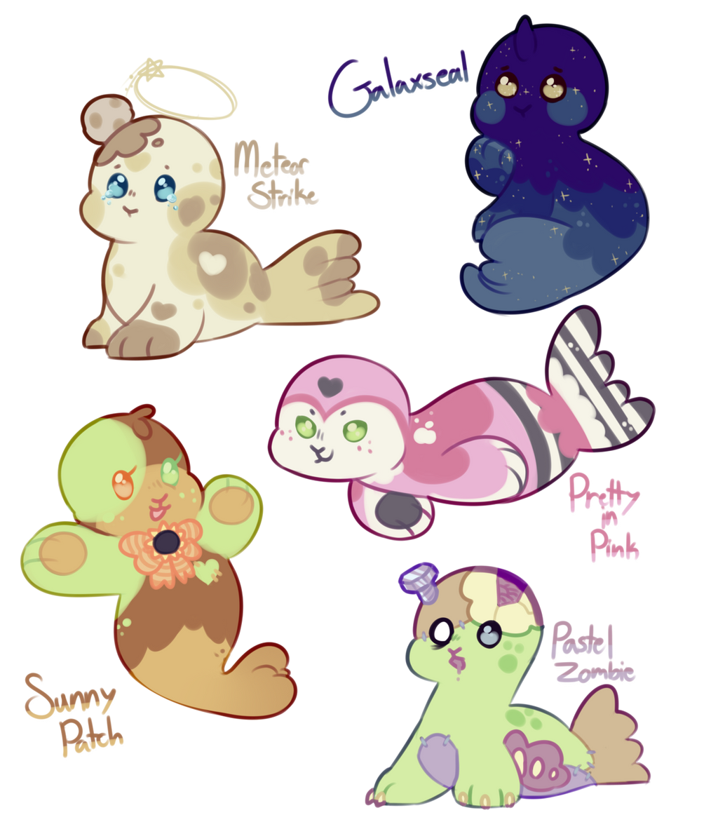 (sold) Seal Adopts! Auction by royalraptors