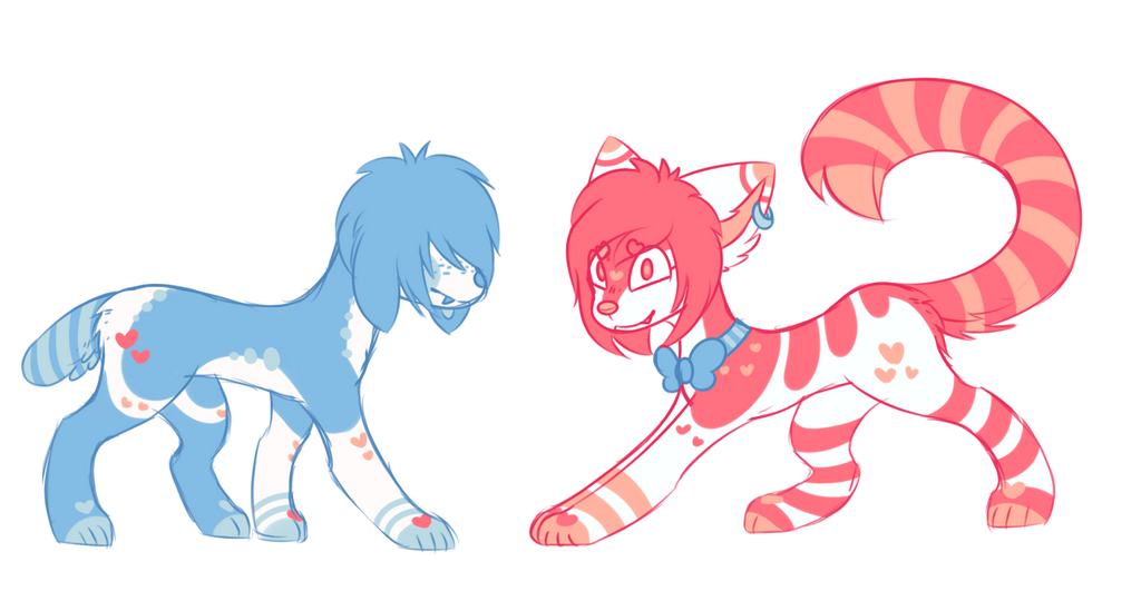 (sold) sketchy adopts (now flatsale) by royalraptors