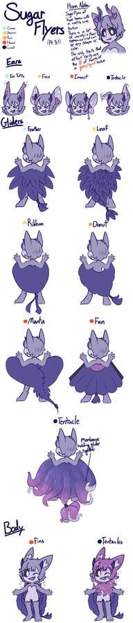 Sugar Flyer Ref Sheet Pt. 3 (new traits!!)