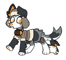 (sold) Husky n Friend Adopt AUCTION
