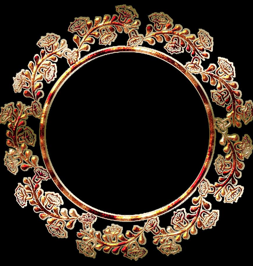 Round border vector frame by gautamdas1992 on deviantart for Transparent top design