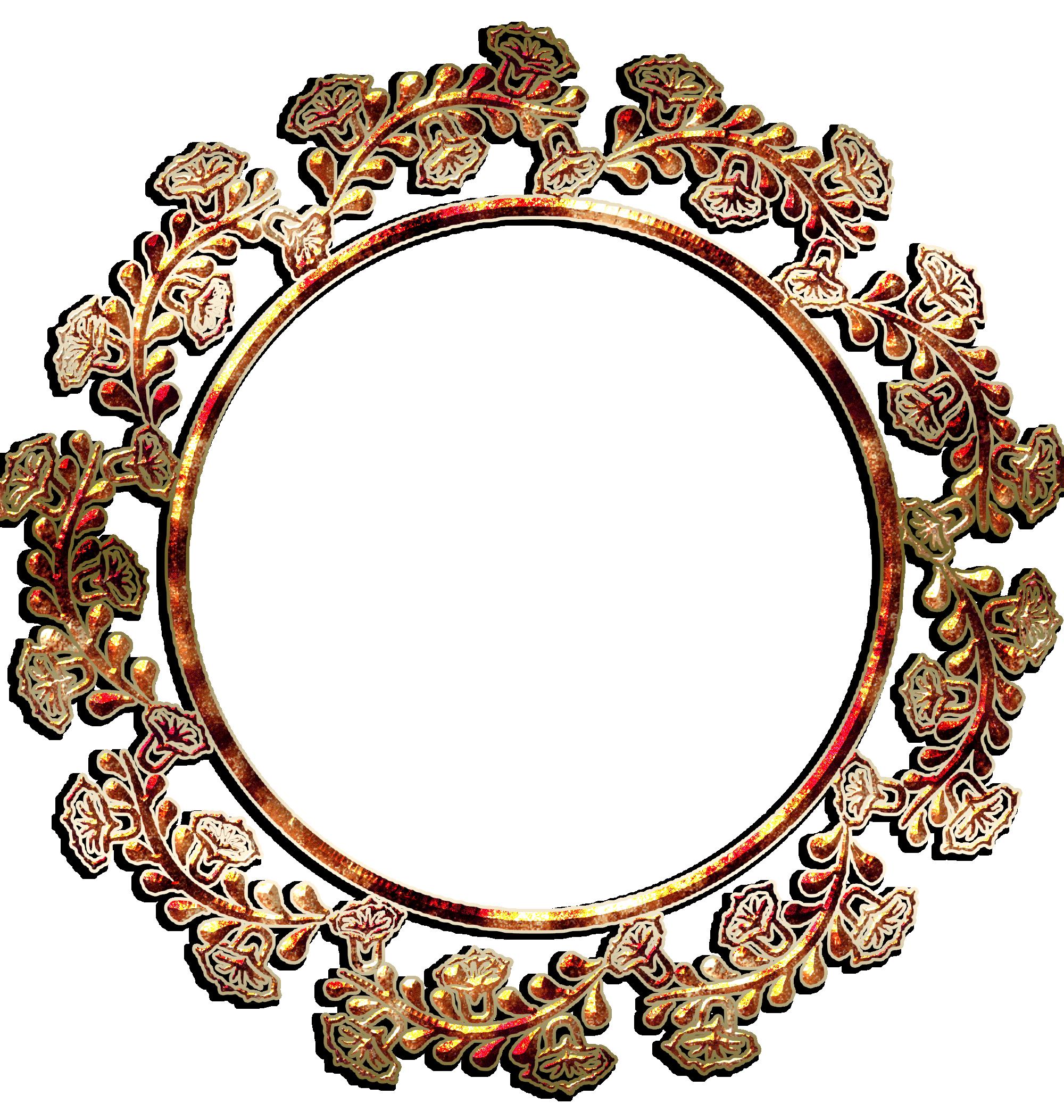 ... Round Border Vector Frame By GautamDas1992