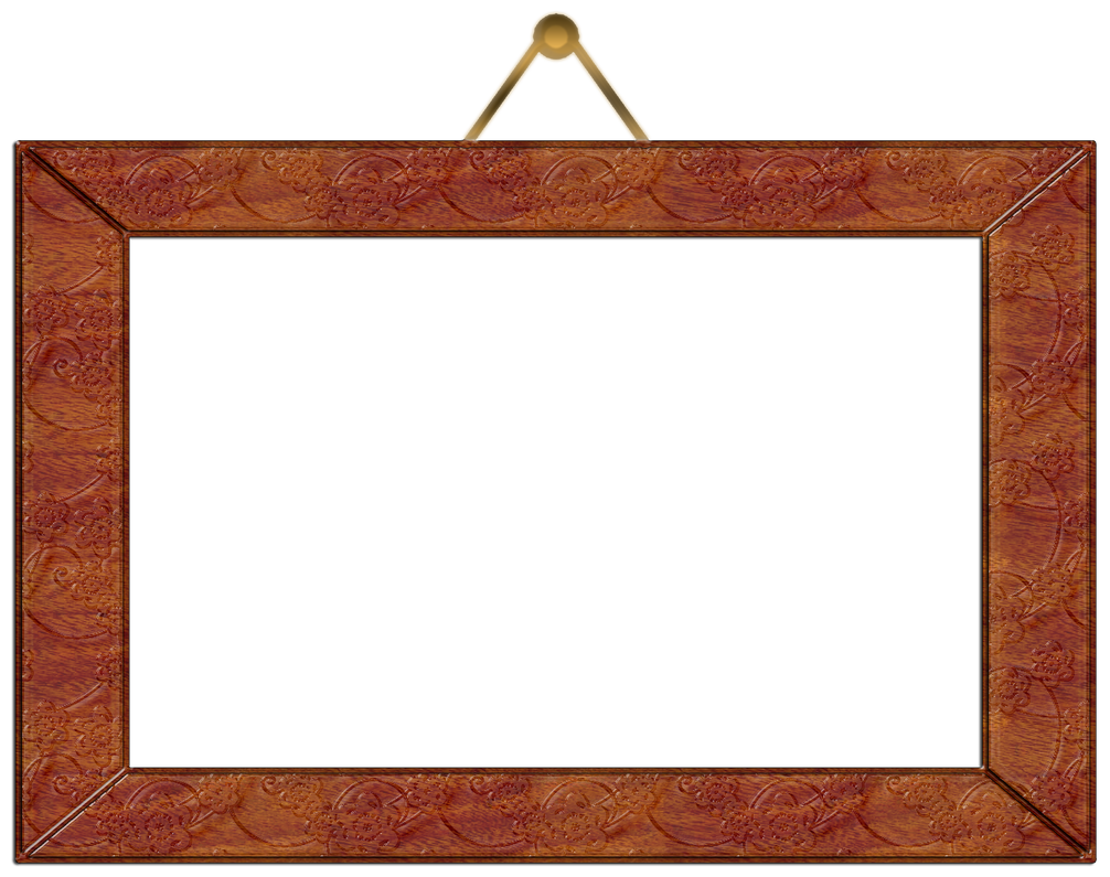 Wooden wall hanging picture frame by gautamdas1992 on for Hanging frames on walls